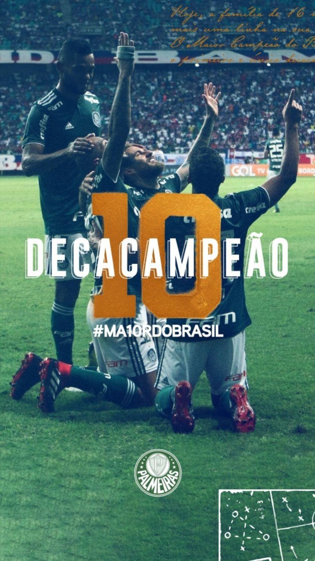 Palmeiras Decacampeão - Enzo Sunahara Copywriter