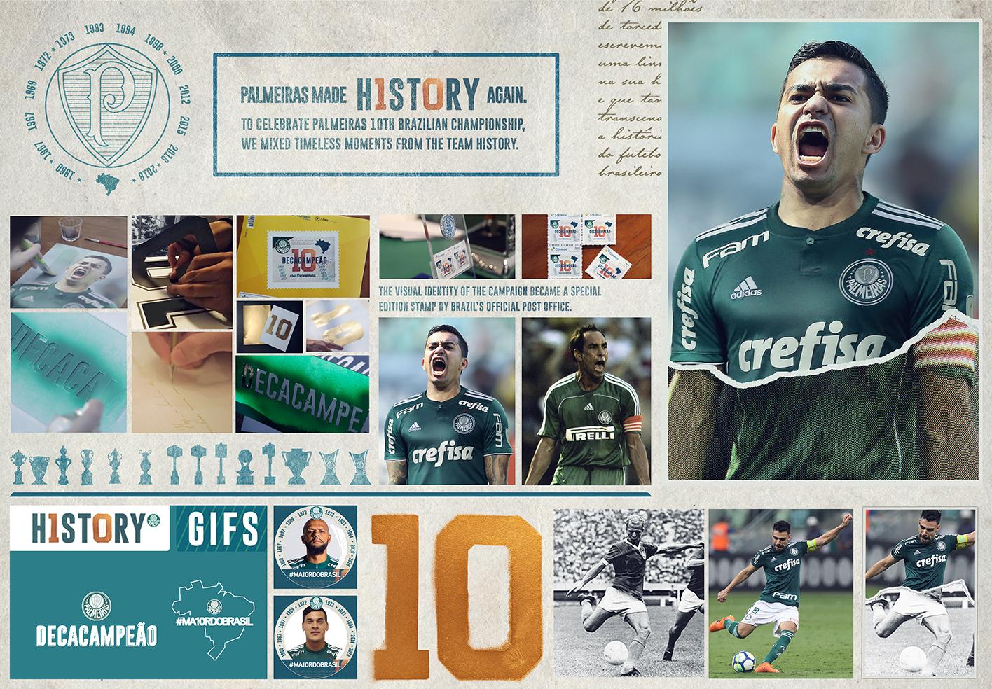 Palmeiras Decacampeão Board - Enzo Sunahara Copywriter