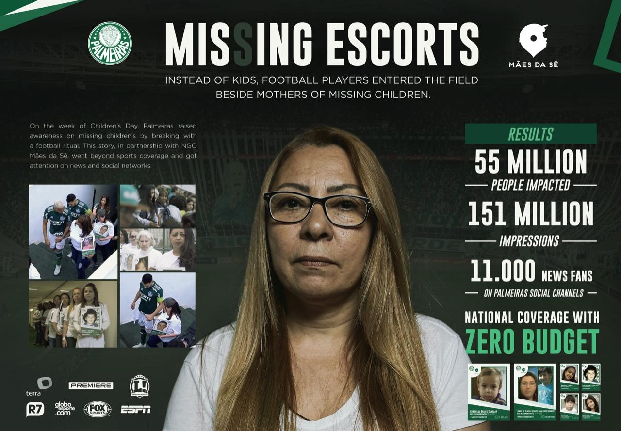 Missing Escorts Board - Enzo Sunahara Copywriter